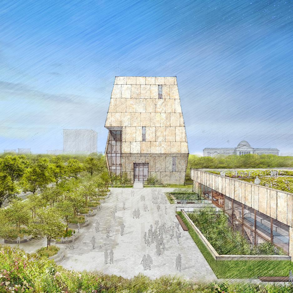 Obama Presidential Library concept design