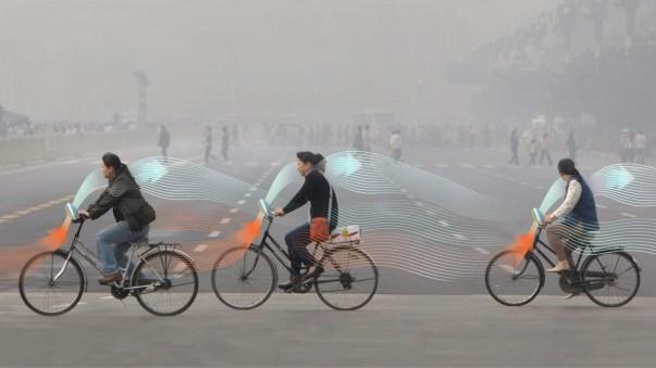 Smog free bike