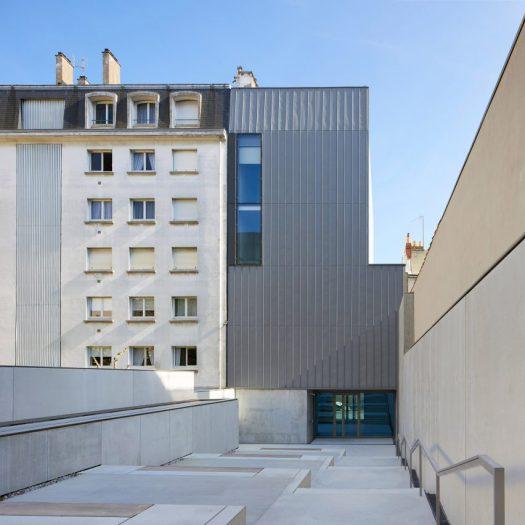 Museé d'arts de Nantes, France, by Stanton Williams