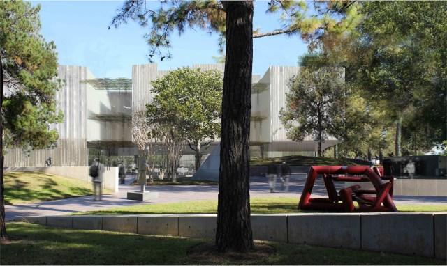 Museum of Fine Art, Houston by Steven Holl