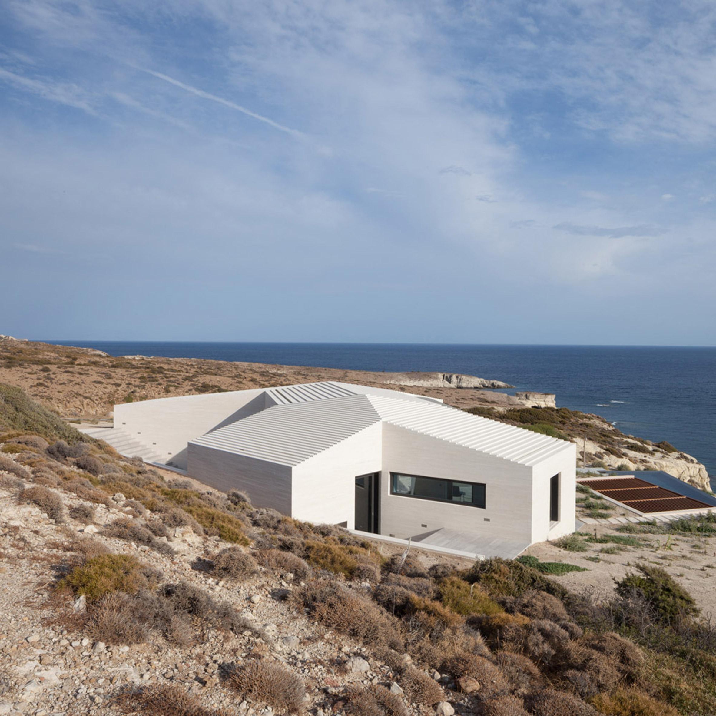 Greek island homes