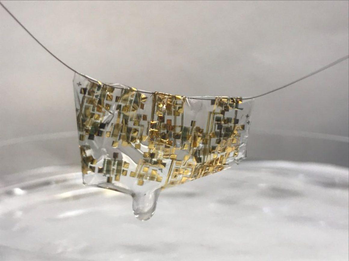 Technologie dissolvable par l'Université de Stanford