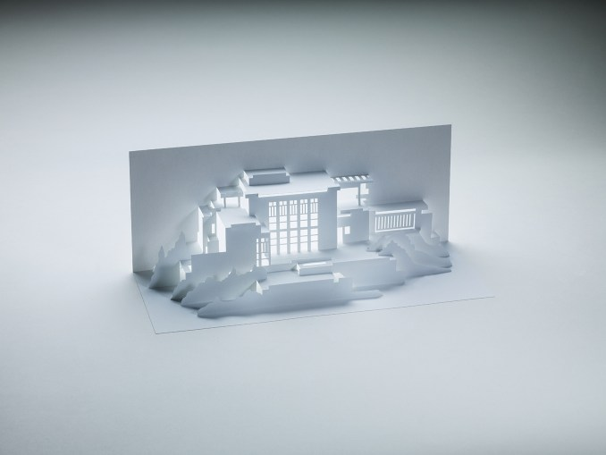 Competition: win a book demonstrating the art of kirigami through the architecture of Frank Lloyd Wright