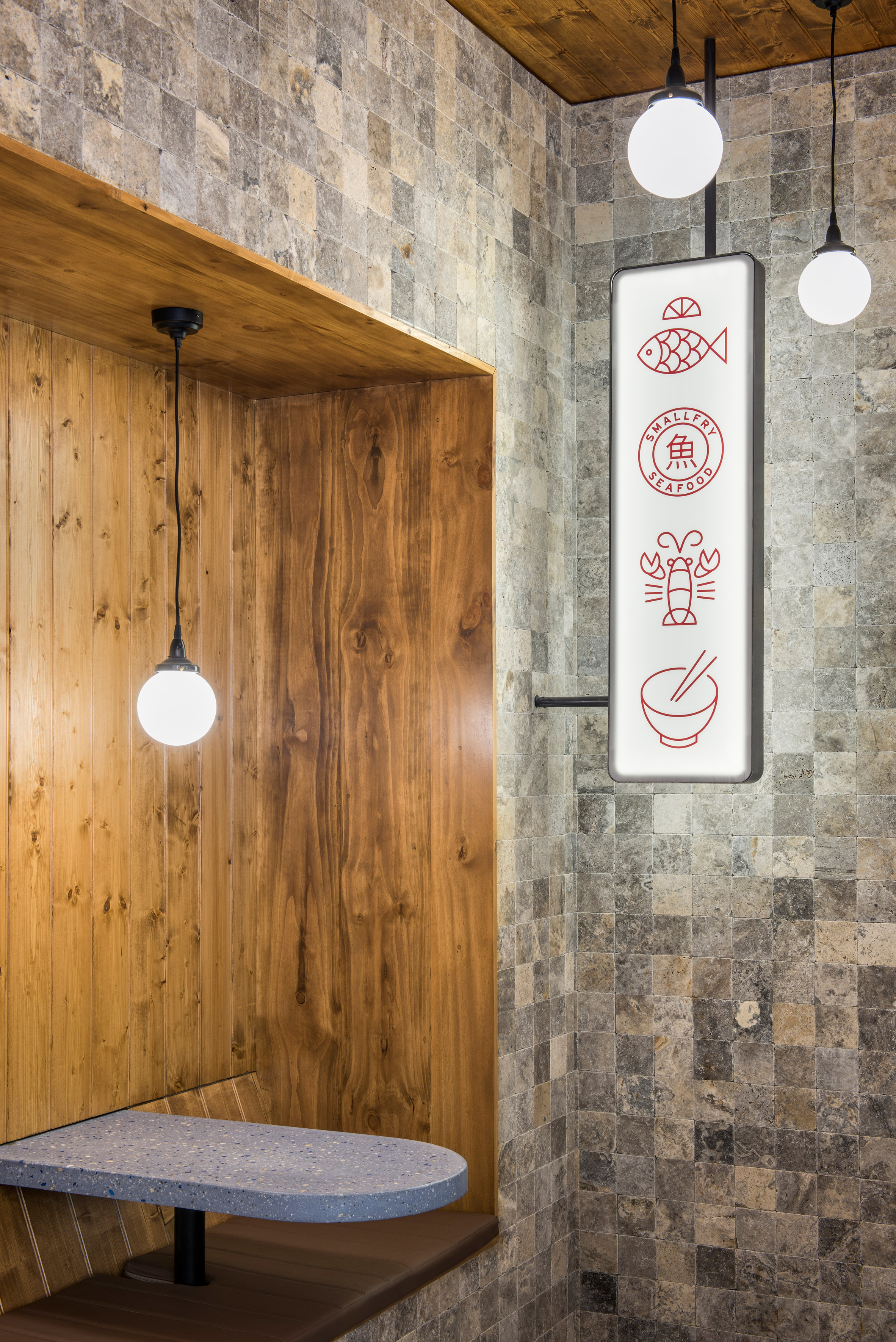 fish and chips shop interior design ideas