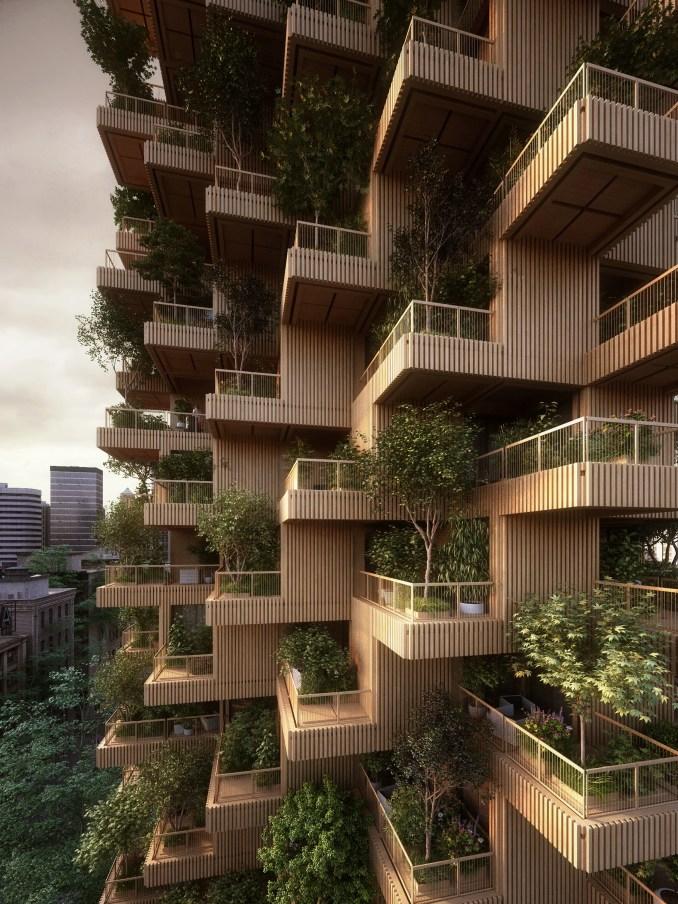 Toronto Tree Tower by Penda