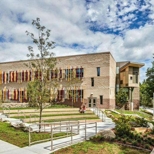 Sandy Hook Elementary School in Connecticut, USA by Svegal and Partners.
