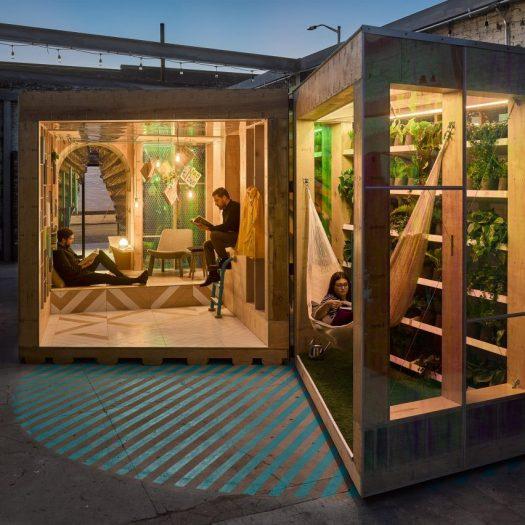 MINI Living Urban Cabin in New York by Bureau V
