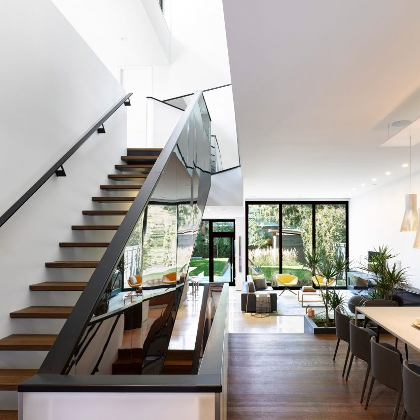 Staircase Design You Need In Your Home Dezeen S Top 10 Staircases | Simple Staircase Designs For Homes | Stylish | Staircase Woodwork | Living Room | Easy | White