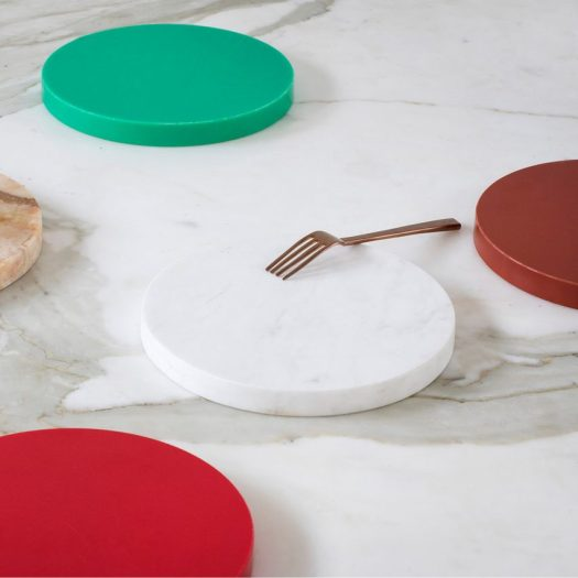 Dezeen has teamed up with Antwerp-based label valerie_objectsto give readers the chance to win one of three pairs of kitchen accessories, designed byBelgian duo Muller Van Severen.
