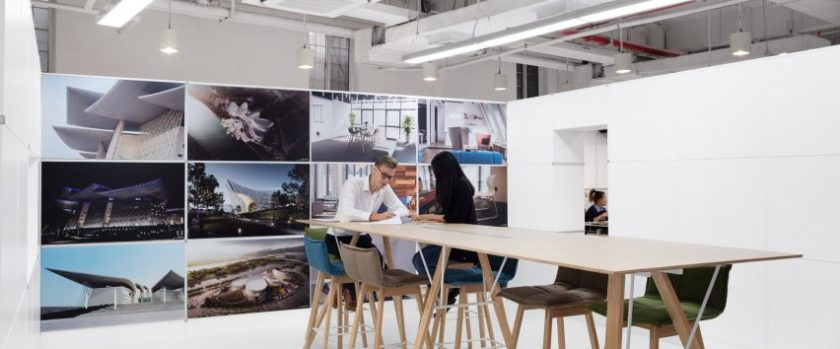Shanghai studios by Marc Goodwin