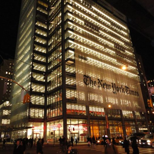 The New York Times building by Renzo Piano
