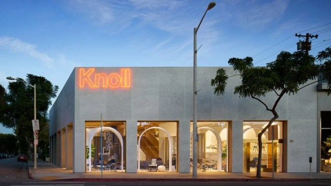 Knoll opens LA store based on Moroccan castle by Johnston Marklee