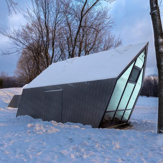 Mount-Royal Kiosks by Atelier Urban Face