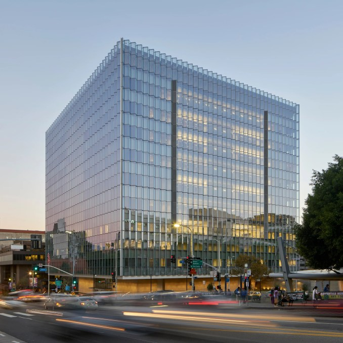 New United States Courthouse; Los Angeles, by Skidmore, Owings & Merrill