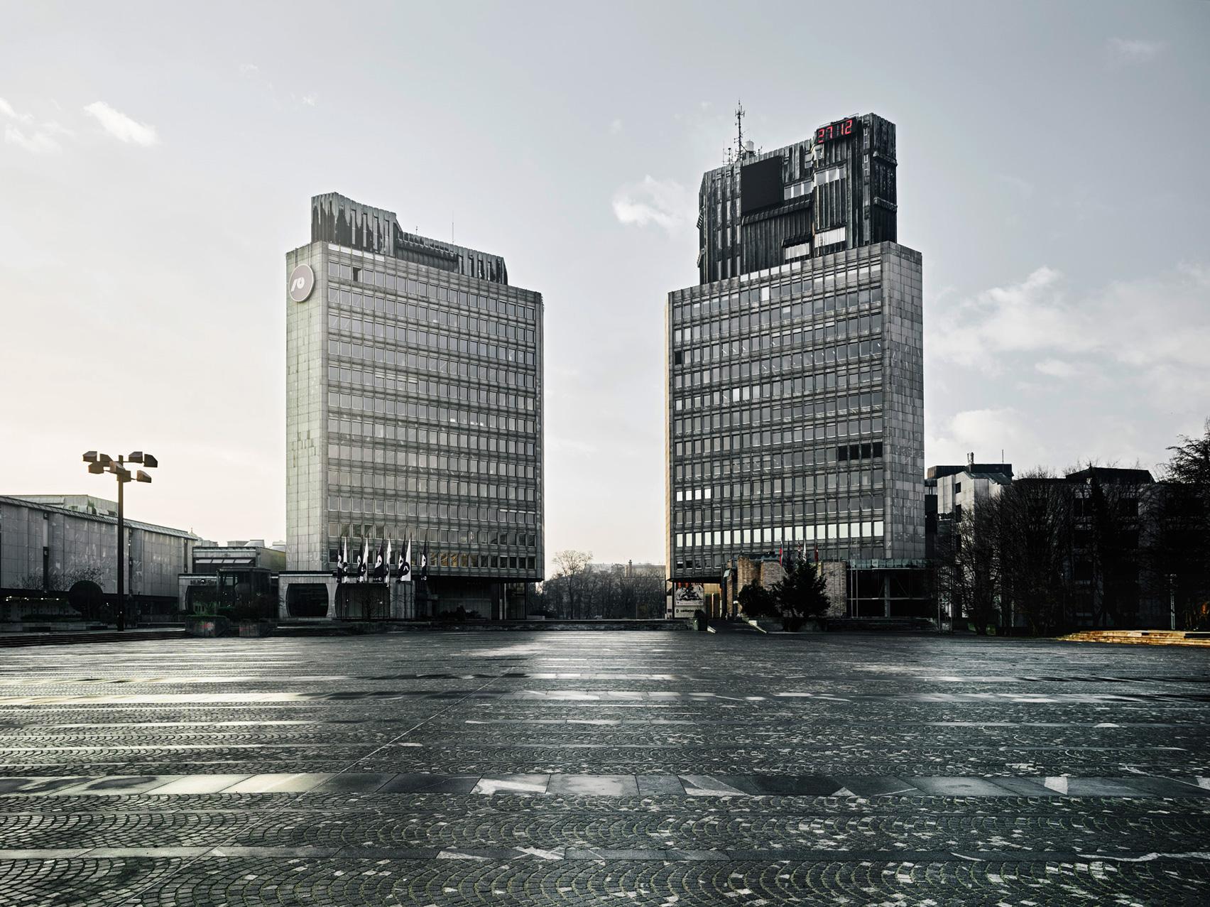 Revolution Square by Edvard Ravnikar