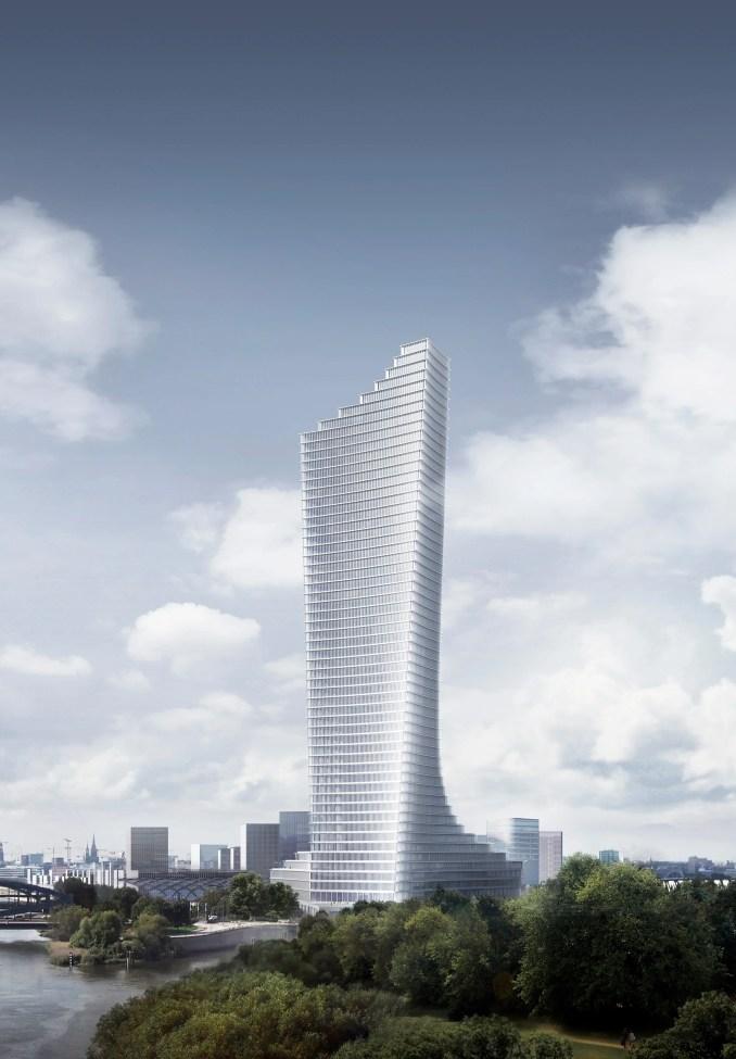 David Chipperfield's skyscraper in Hamburg