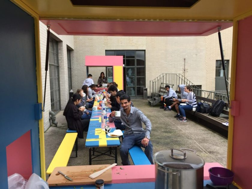 Merrett Houmøller Architects Befriending Kitchen for the British Red Cross