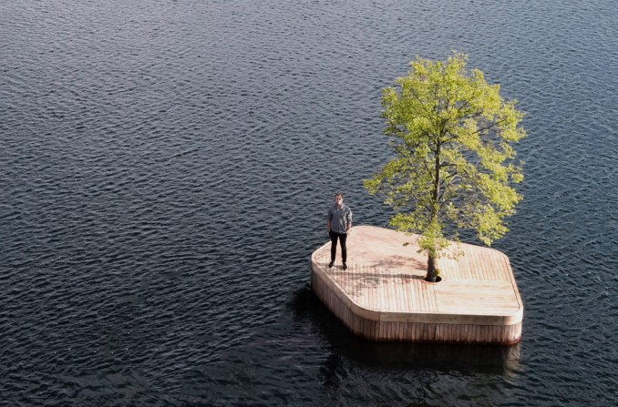 Marshall Blecher and Magnus Maarbjerg Copenhagen floating island