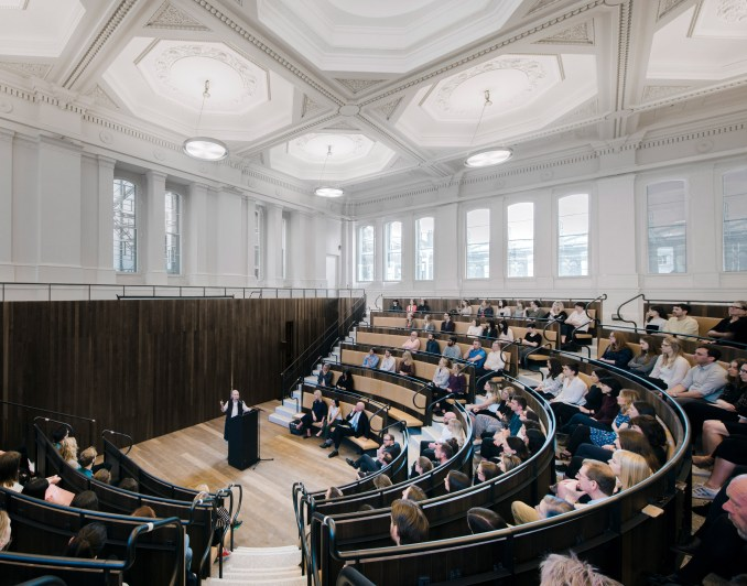 David Chipperfield's extension to London's Royal Academy