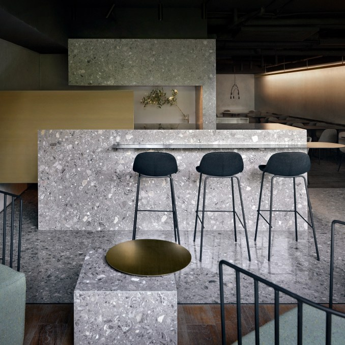 Chinese interior designers, Elle Decoration China 2019 annual: Lievito gourmet pizza restaurant by MDDM Studio