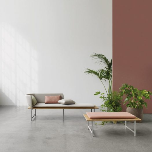 "Cecilie Manz designs minimal furniture for ""relaxed moments"""
