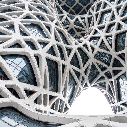 Morpheus hotel by Zaha Hadid Architects, photo by Ivan Dupont