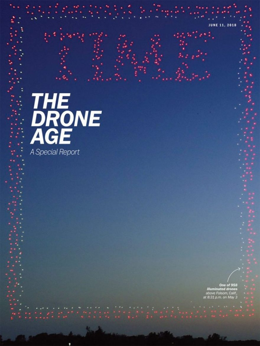 Time's The Drone Age – A Special Report cover