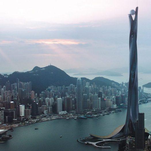 Skyscraper movie Adrian Smith