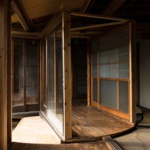 Japanese architecture and design   Dezeen Atsuko Mochida creates revolving floor and walls in abandoned house