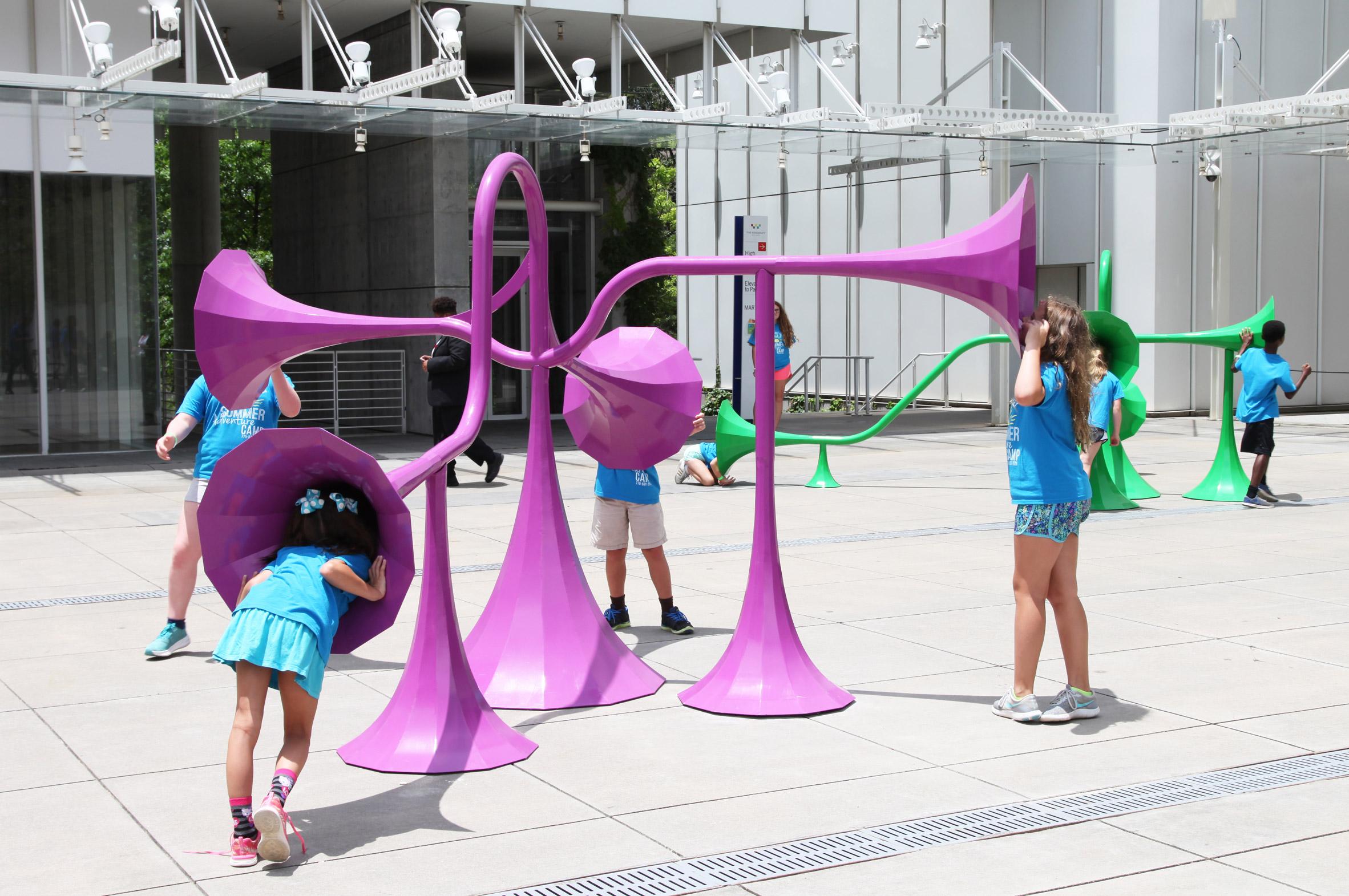 Yuri Suzuki sound design projects: Sonic Playground