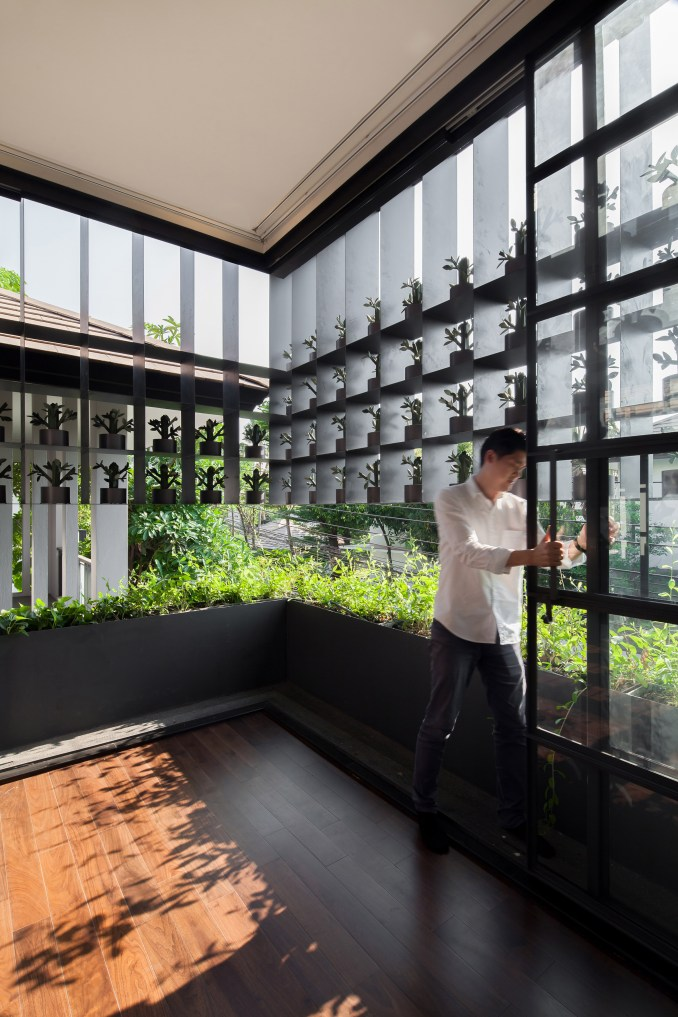 Flower Cage House by Anonym Studio
