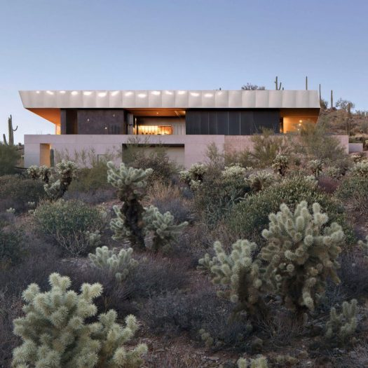 Hidden Valley Desert House by Wendell Burnette
