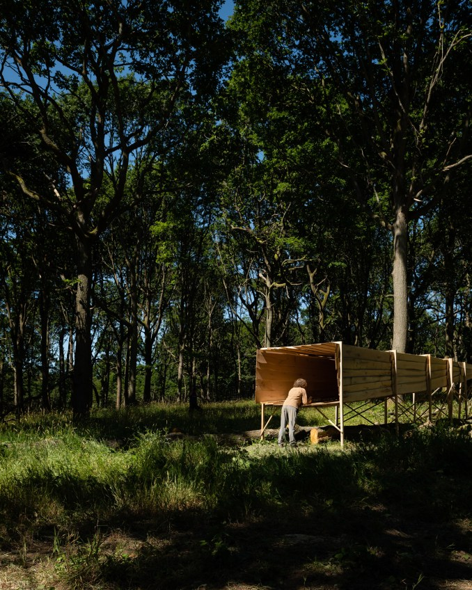 Studio in the Woods residency by Invisible Studio
