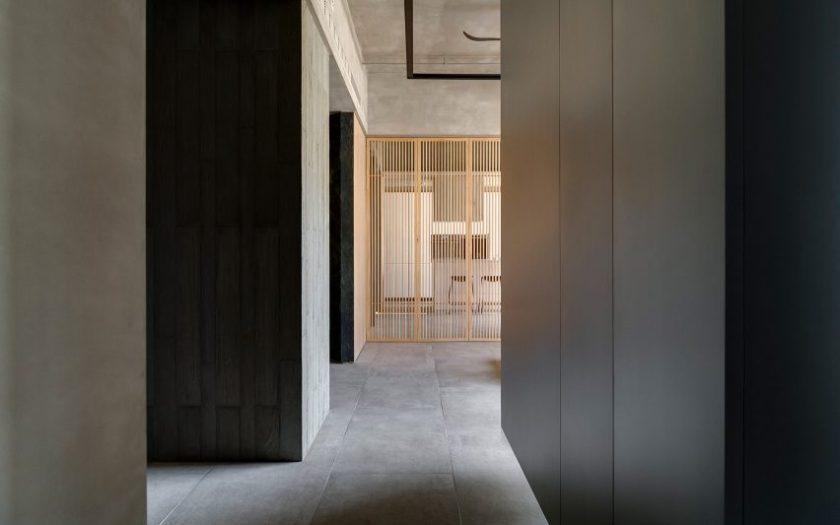 Din-a-ka apartment by Wei Yi International Design Associates