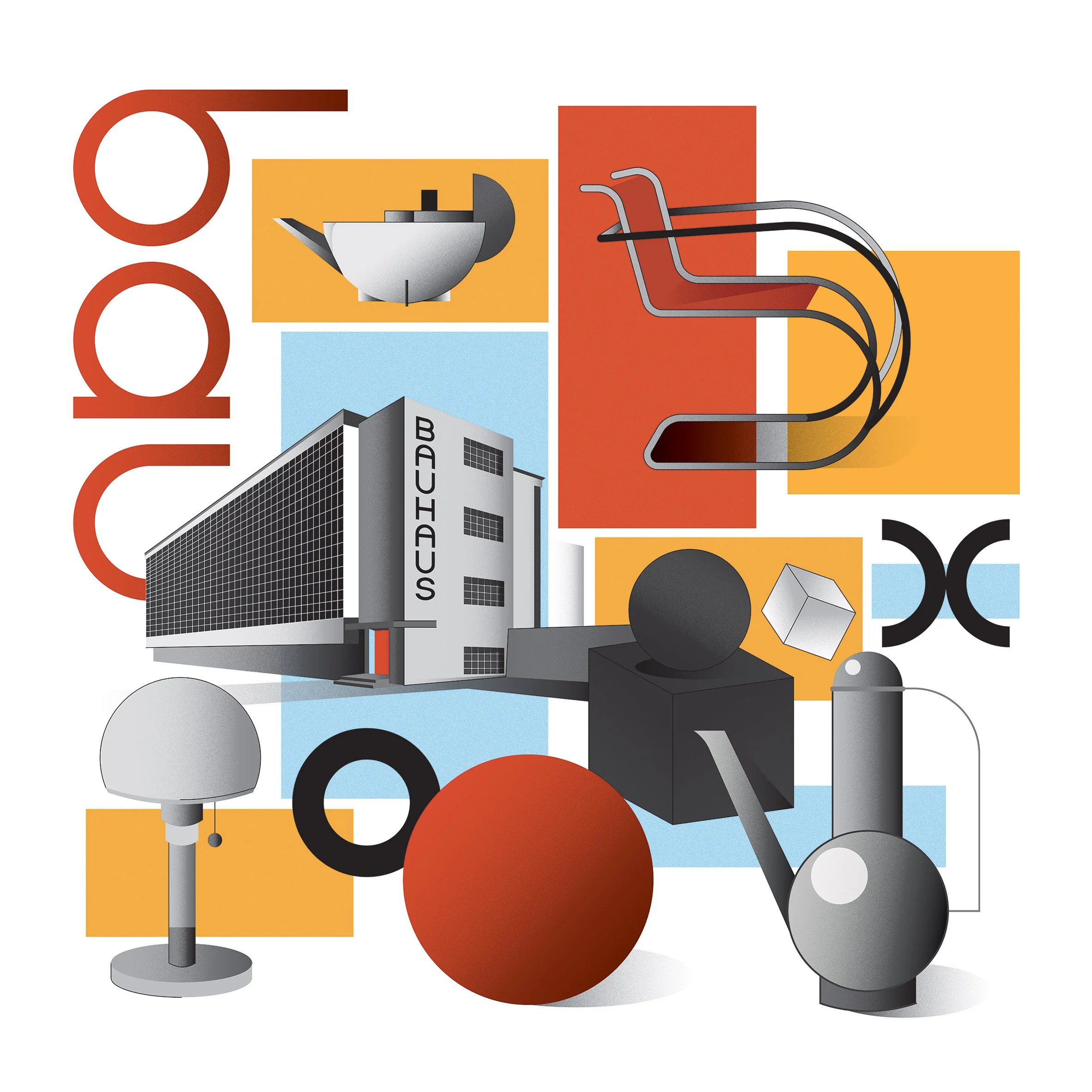 Dezeen guide to 100 years of Bauhaus