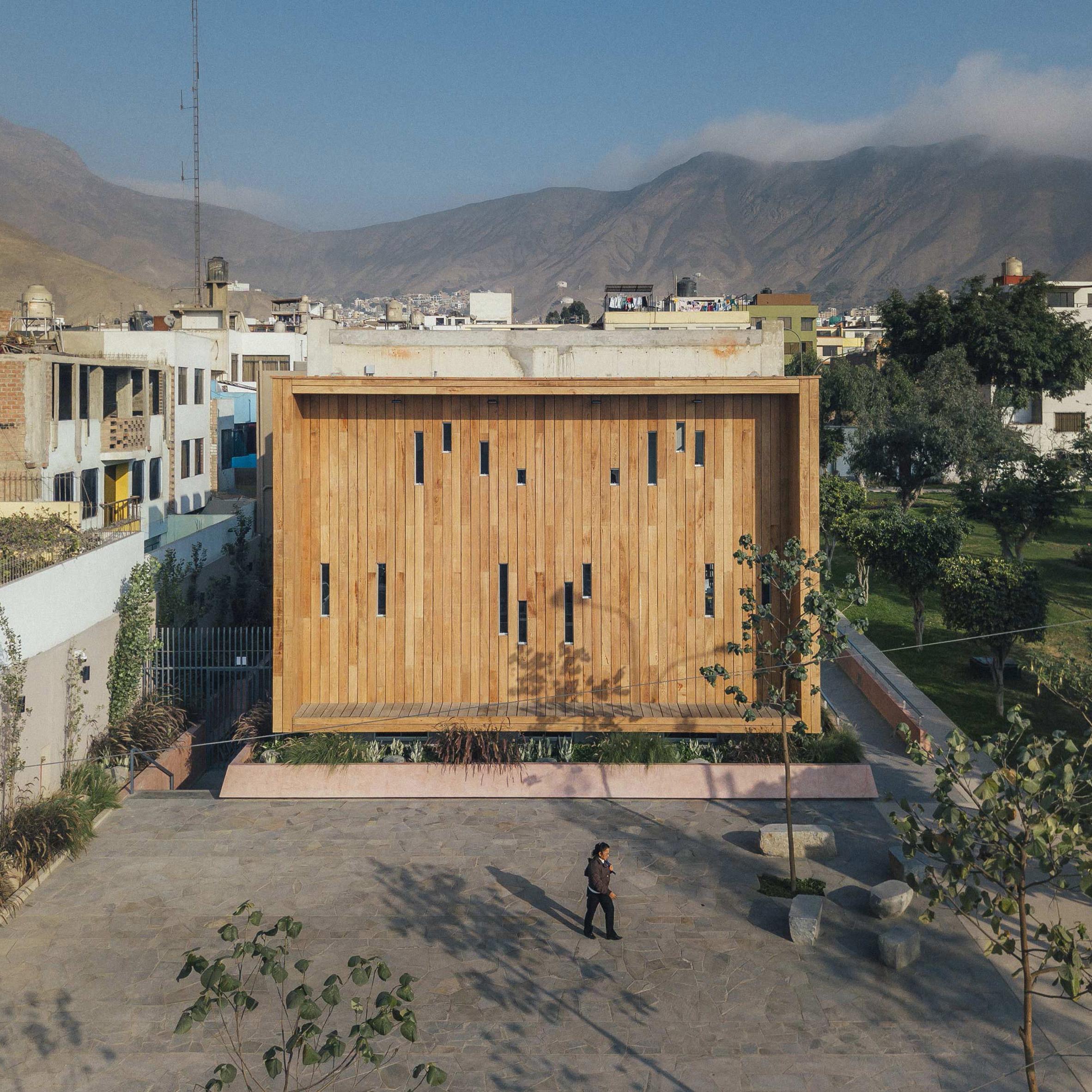 Community Library in La Molina by Gonzalez Moix Arquitectura