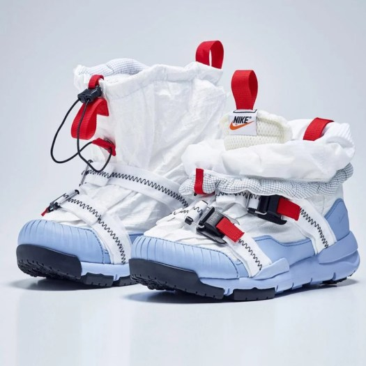Tom Sachs updates Nike Mars Yard trainer to better resemble shoes worn by astronauts