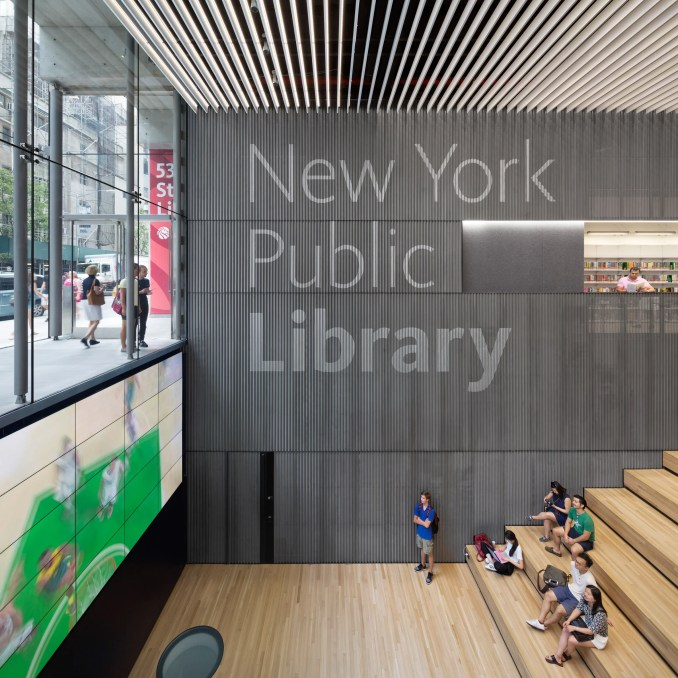 NYPL 53rd Street Library by TEN Arquitectos