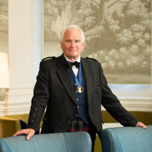 Robin Webster, new RIAS president
