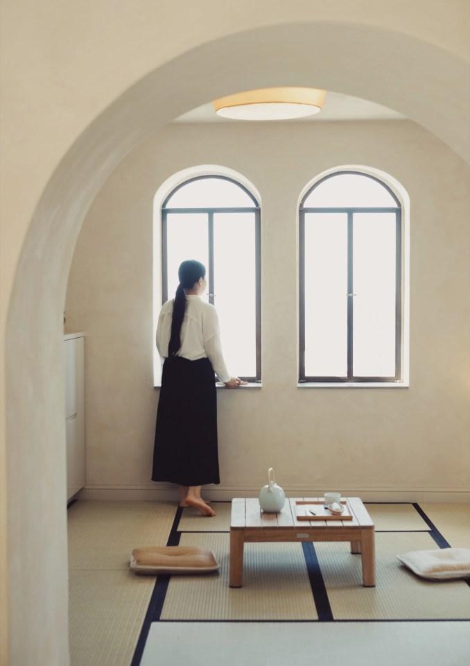 Yoko Kitahara spa blends Japanese and Arabic designs in