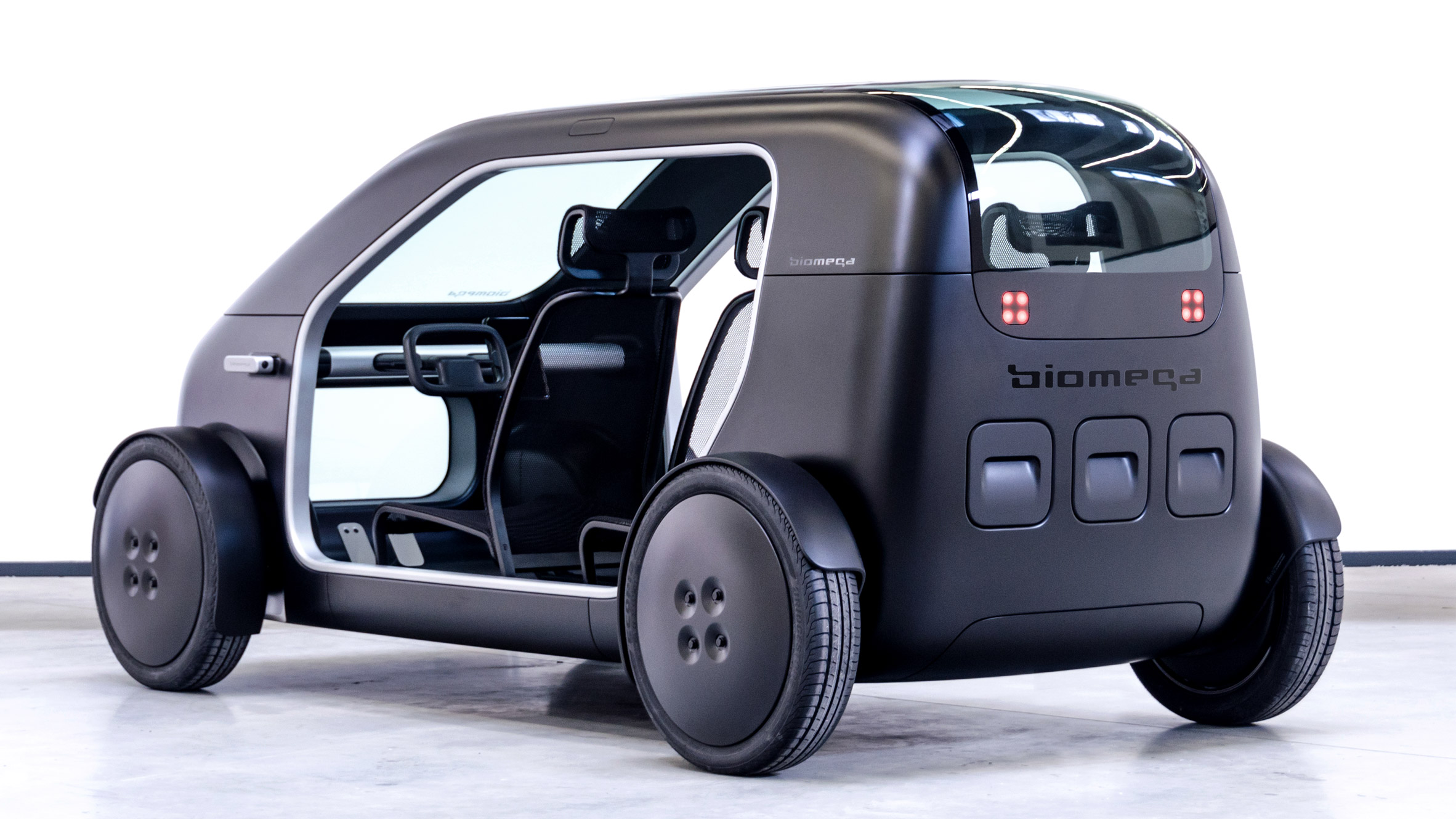 Biomega's electric car concept