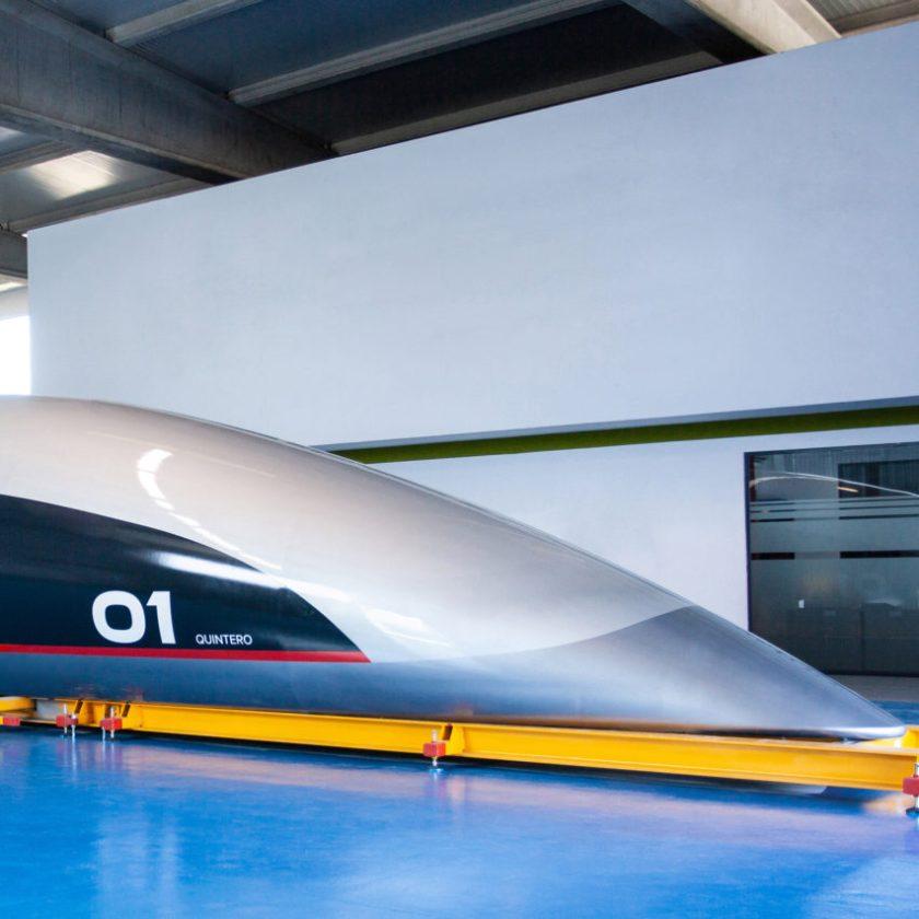 Top 10 transport: Hyperloop capsule by Priestmangoode