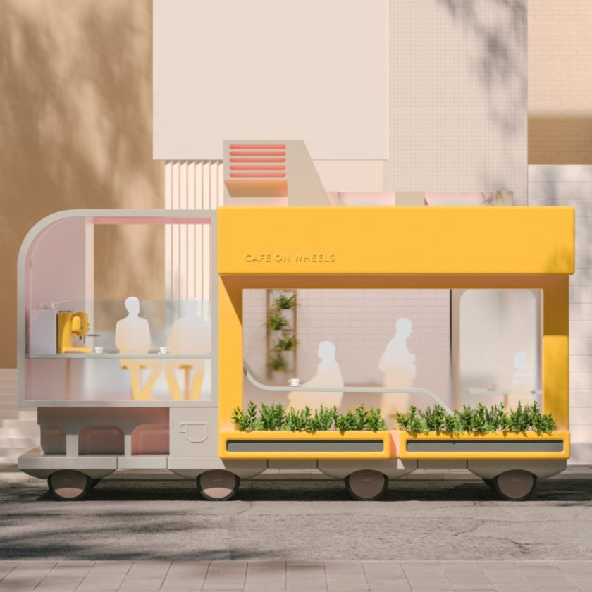 Top 10 transport: Spaces on Wheels by Space10