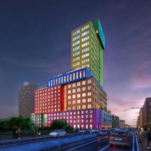 Radio Tower & Hotel by MVRDV
