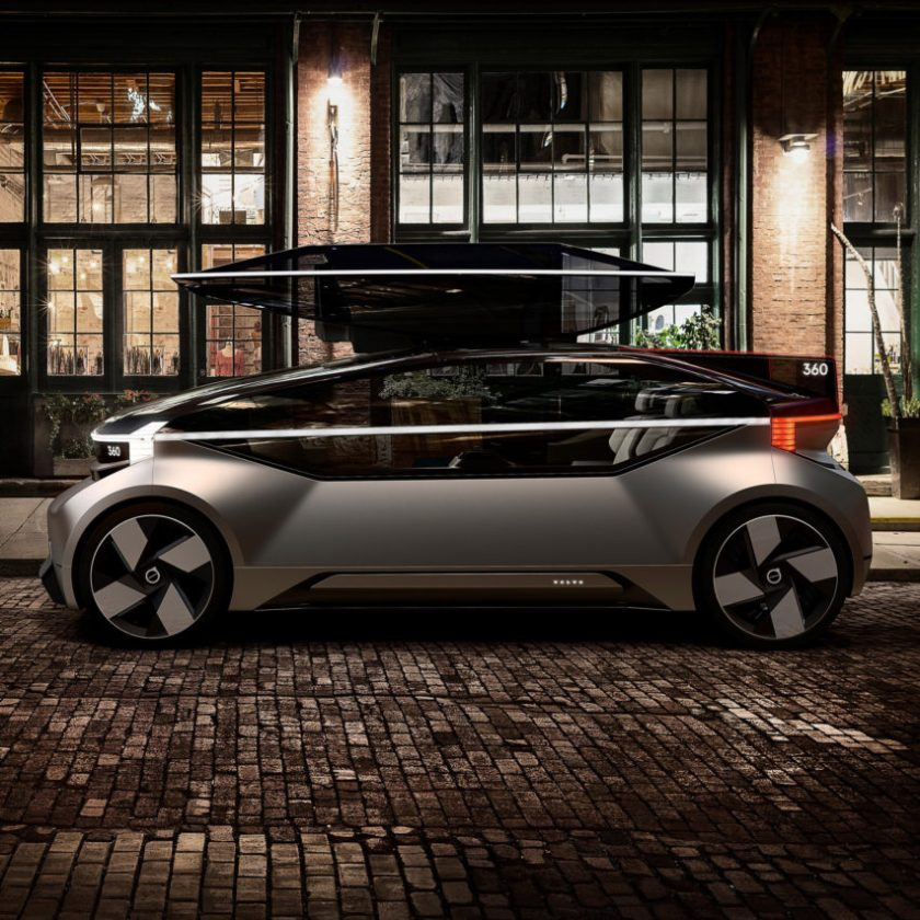 Top 10 transport: 360c concept by Volvo