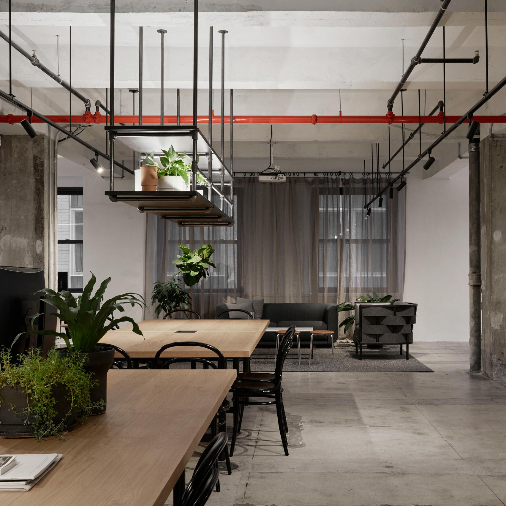 Top 10 office interiors: Woods Bagot New York Studio, USA, by Woods Bagot