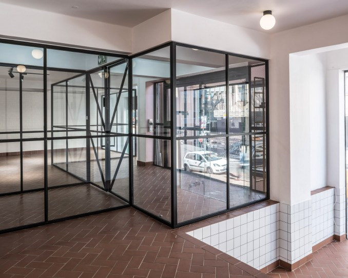 South African architecture firm Local Studio designs shared creative space in central Johannesburg