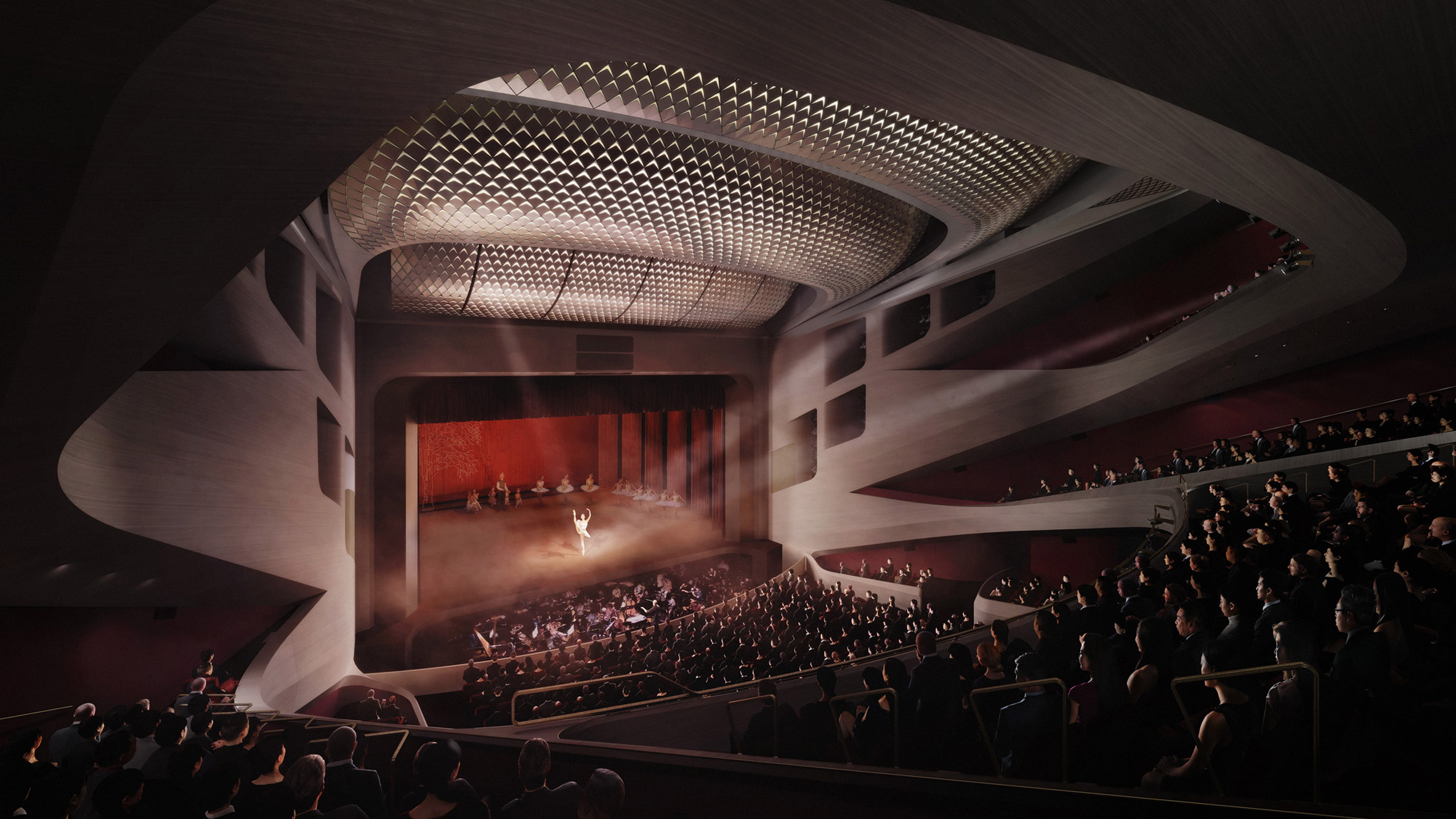Lyric Theatre Complex in Hong Kong by UNStudio