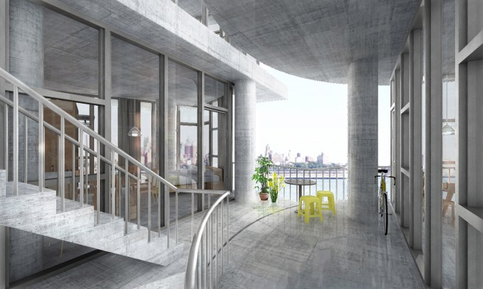 Table Top Apartments designed by Kwong von Glilow