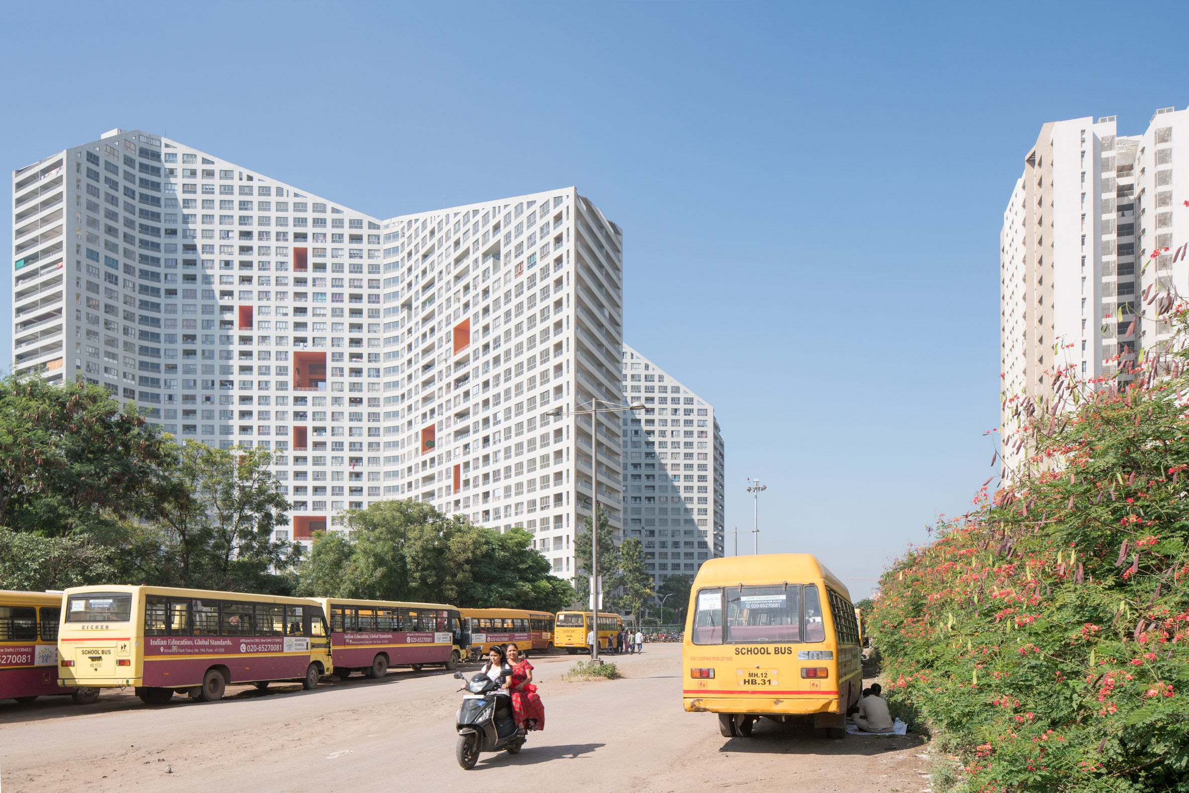 The Future Towers by MVRDV in Pune, India